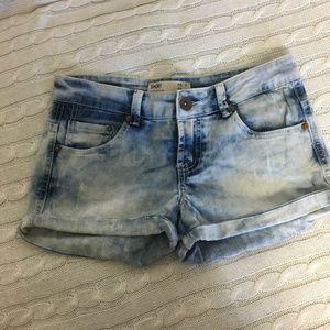 Cotton On Tie Dye Denim Shorts Size 4